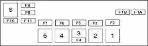 альфа ромео 166 блок с реле