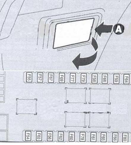 блок в багажнике альфа