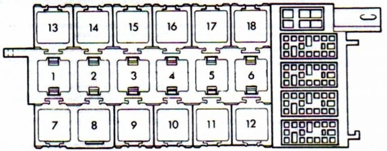 Ауди 80 схема реле
