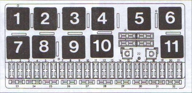 Схема блока ауди 80