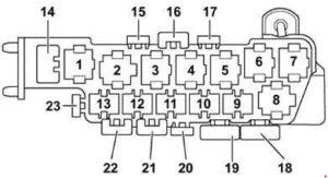 блок реле а6 с5