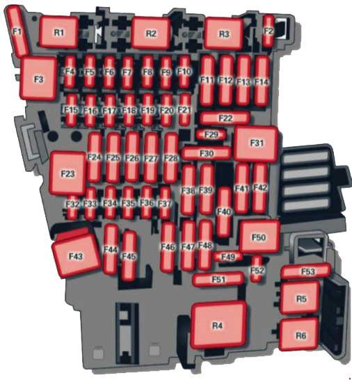 схема блока предохранителей а3