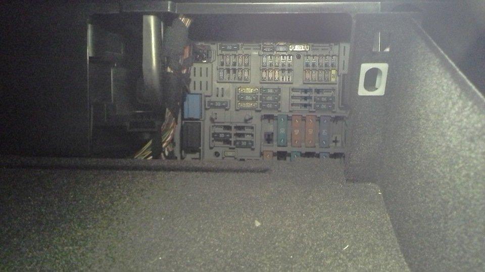 фото блока предохранителей е90