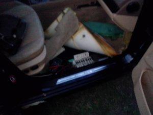 BMW - 39 блок под сидением