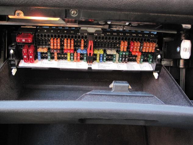 BMW e46 предохранители
