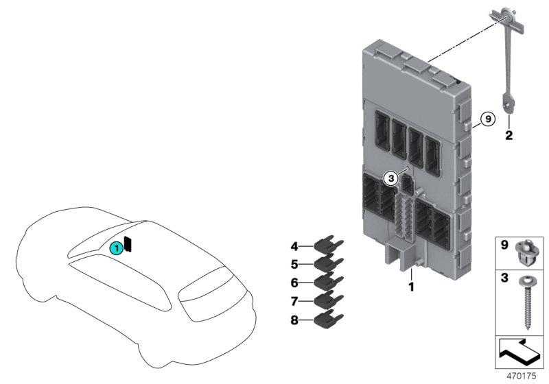 электронный блок управления бмв х5 ф15
