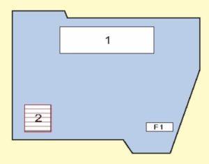 блок под капотом схема е70
