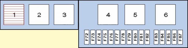 схема предохранителей BMW X5 E53