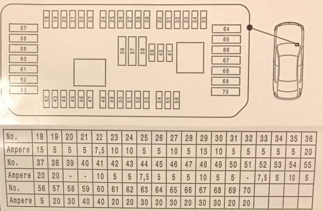схема блока под бардачком bmw x5 f15