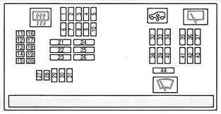 схема блока с предохранителями бмв х6 в салоне