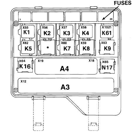 схема реле бмв е32