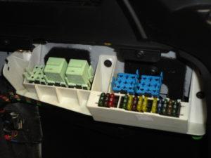 расшифровка блока предохранителей BMW e28