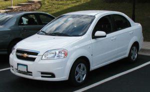 Chevrolet Aveo фото