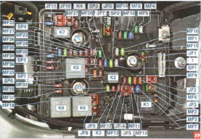 cobalt фото схема с предохранителями