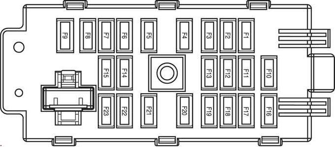 схема предохранителей шевроле эпика