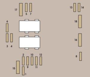 Схема блока под капотом 807