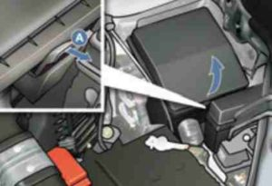 блок предохранителей в моторном отсеке