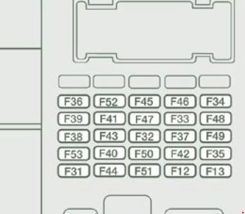 схема блока в блок в приборной панели вариант 2