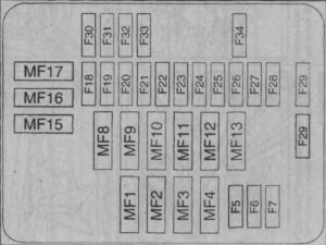 Xara Picasso схема блока под капотом 2