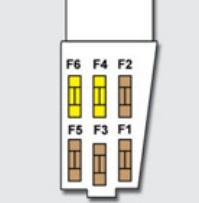 Схема плавких предохранителей