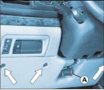блок в салоне Peugeot 406