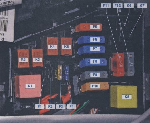 Duster схема блока