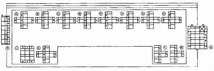полная схема блока с реле