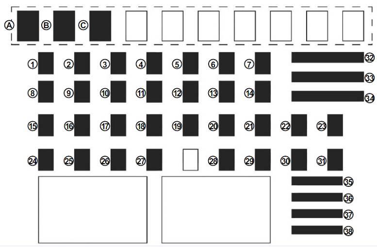 схема блока в салоне доккер