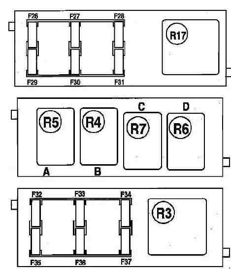 Схема доп блока в приборной панели