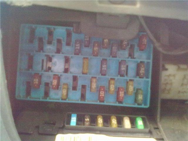 фото блока в салоне рено меган сценик