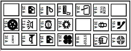 модус схема в салоне