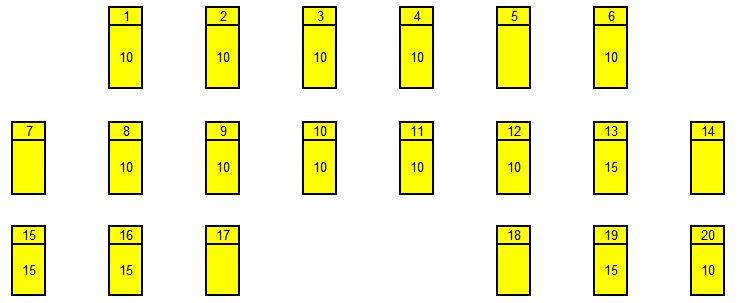 Схема блока с25