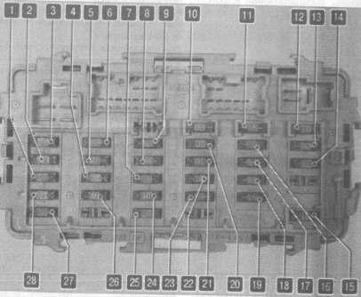 Схема блока в салоне ниссан лаурель