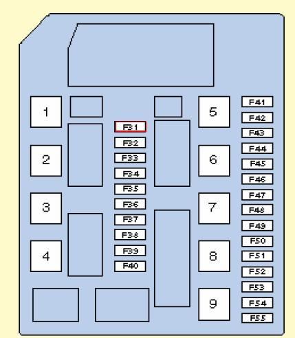 Схема блока за фарой