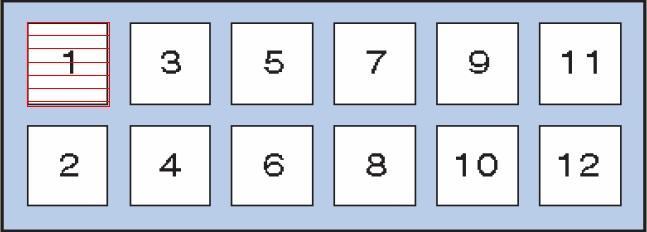 Схема блока реле 1 Y61