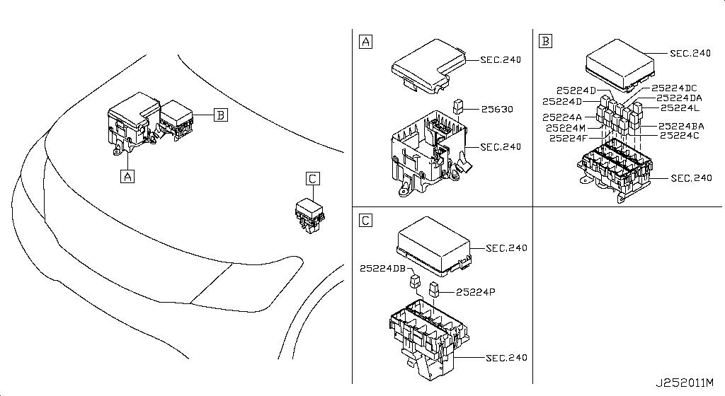 блоки под капотом ниссан патрол y62