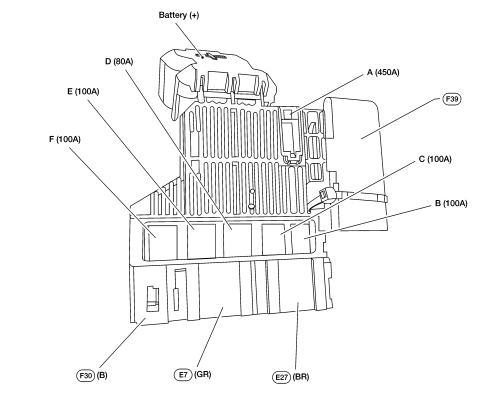 Схема на аккумуляторе