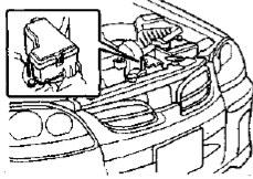 Расположение блок под капотом ниссан тино