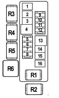 Схема блока А вариант 1