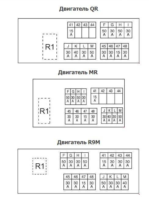 Схема блока Б