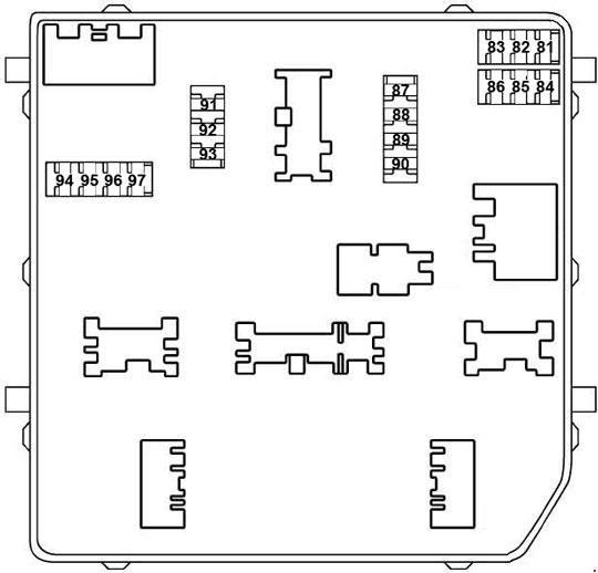 схема монтажного блока а