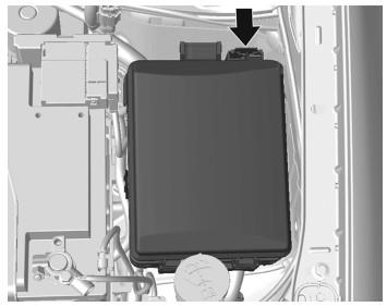 Расположение блока под капотом