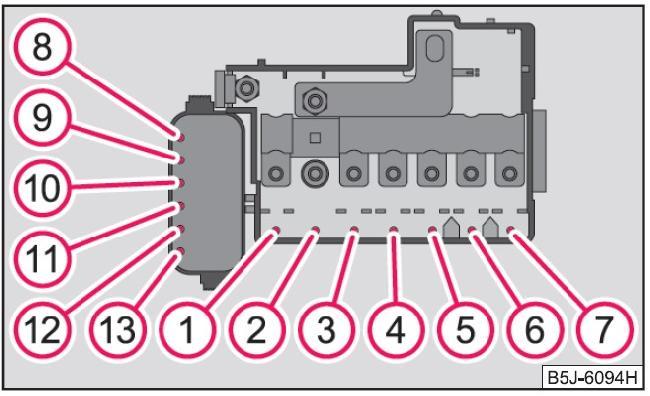 Схема 1 на АКБ
