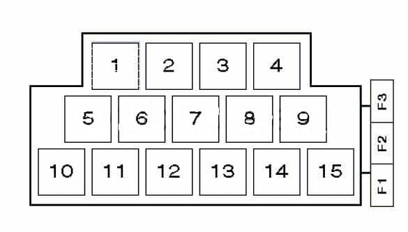 Skoda-Fabia-1 схема блока с реле