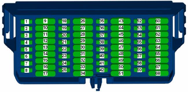 Схема блока 68 элементов