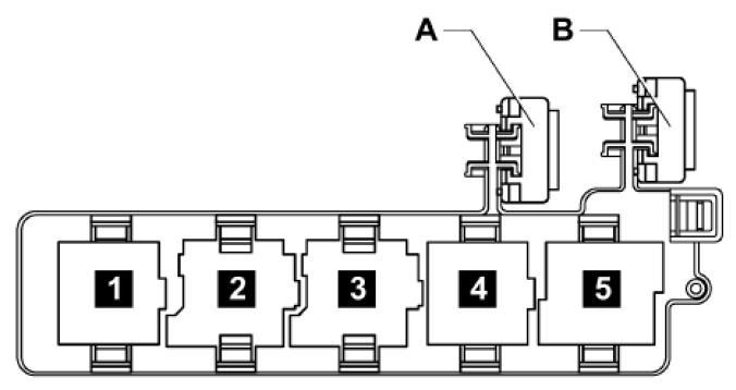 Схема блока реле гольф 5