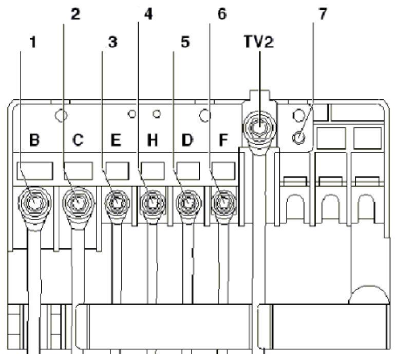 Схема плавких вставок 1