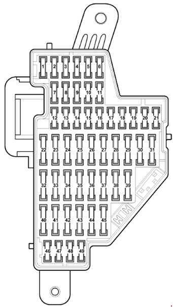 пассат б6 блок в салоне слева до 2008