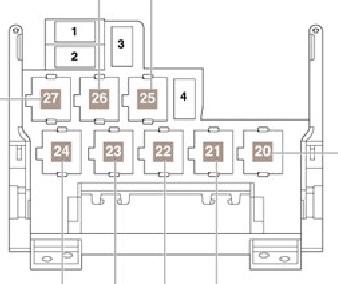 схема блока реле vw sharan