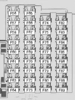Схема блока в салоне 3